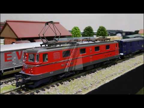 Rame Ho Venise-Simplon-Orient-Express - Loco AE 6/6 Roco