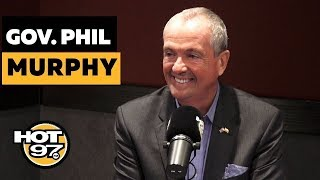 NJ Governor Phil Murphy Shares COVID-19 Update On School Closings, Freezing Rent, + Funds
