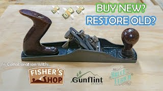 Why I Restored a 90-year-old Hand Plane   Sargent 711