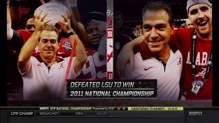 2016 Gameday Feature - Nick Saban's Greatness (HD)