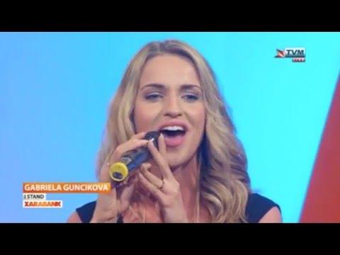 Gabriela Gunčíková - I Stand - LIVE A capella (Czech Republic - Eurovision 2016)