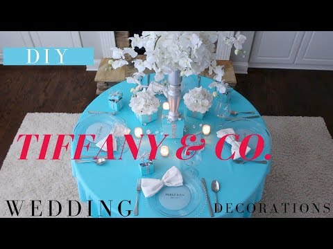 Tiffany & Co Party Decoration Ideas | DIY Tiffany & Co Box | Bridal Shower Ideas