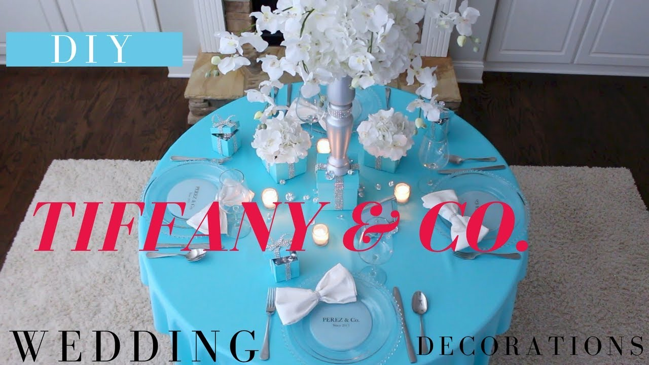 Diy Tiffany Co Party Decoration Ideas Diy Tiffany Box