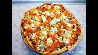 Піца 4 ри сири Пицца 4 сыра Pizza ai quattro formaggi