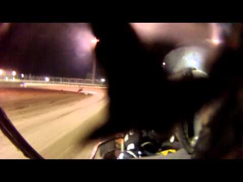 Jordan Hefler heat race Kennedale speedway park 5-17-2013