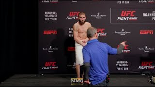 Jimmie Rivera Pulls Towel Prank at UFC Phoenix Official Weigh-Ins - MMA Fighting