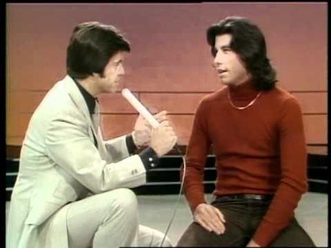 Dick Clark Interviews John Travolta - American Bandstand 1976