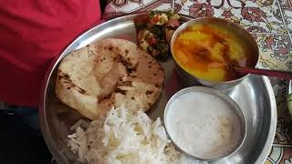 Indian woman lunch to dinner routine 2018 in Hindi / Veg dinner recipes