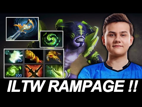 ILTW Rampage Faceless Void — Echo Sabre & Refresher Chrono Carry the Game  