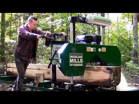 Portable Sawmills- Are they worth the money?- Woodland Mills HM126