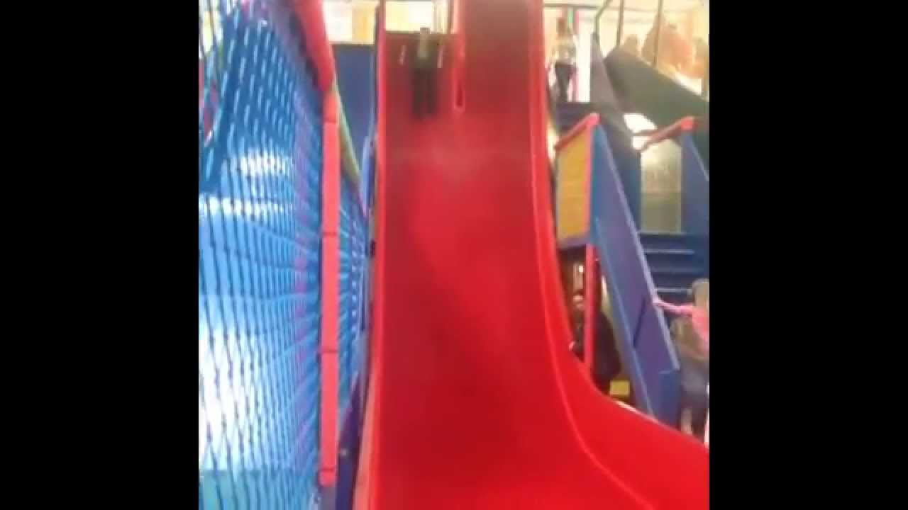 The Mini Mes And Me Hatton Adventure Farm Drop Slide Youtube
