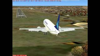 Palermo to Malta- FS2004 flight