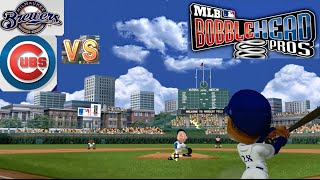 MLB Bobblehead Pros Gameplay Brewers vs. Cubs (Xbox 360)
