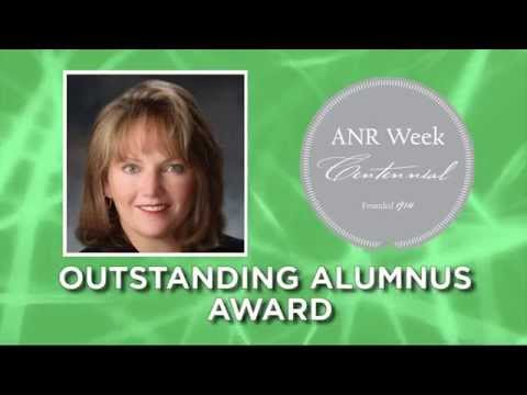 Suzanne Fisher - Outstanding Alumnus Award