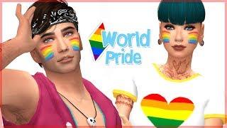 WORLD PRIDE 2017 🏳️🌈 || Los Sims 4 || Mes del Orgullo LGBT  #LoveIsLove