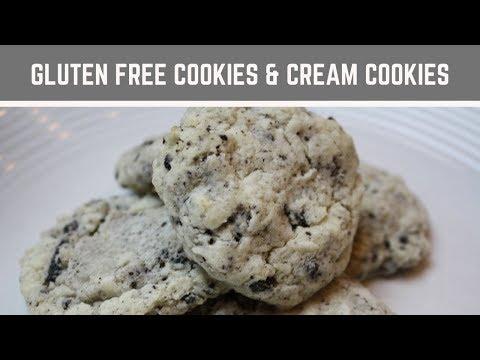Gluten Free Cookies And Cream Cookies