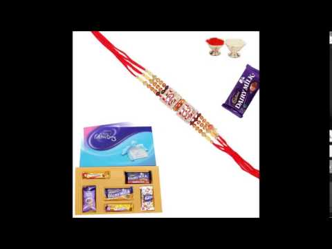 Rakhi gifts hamper for sister and brother
