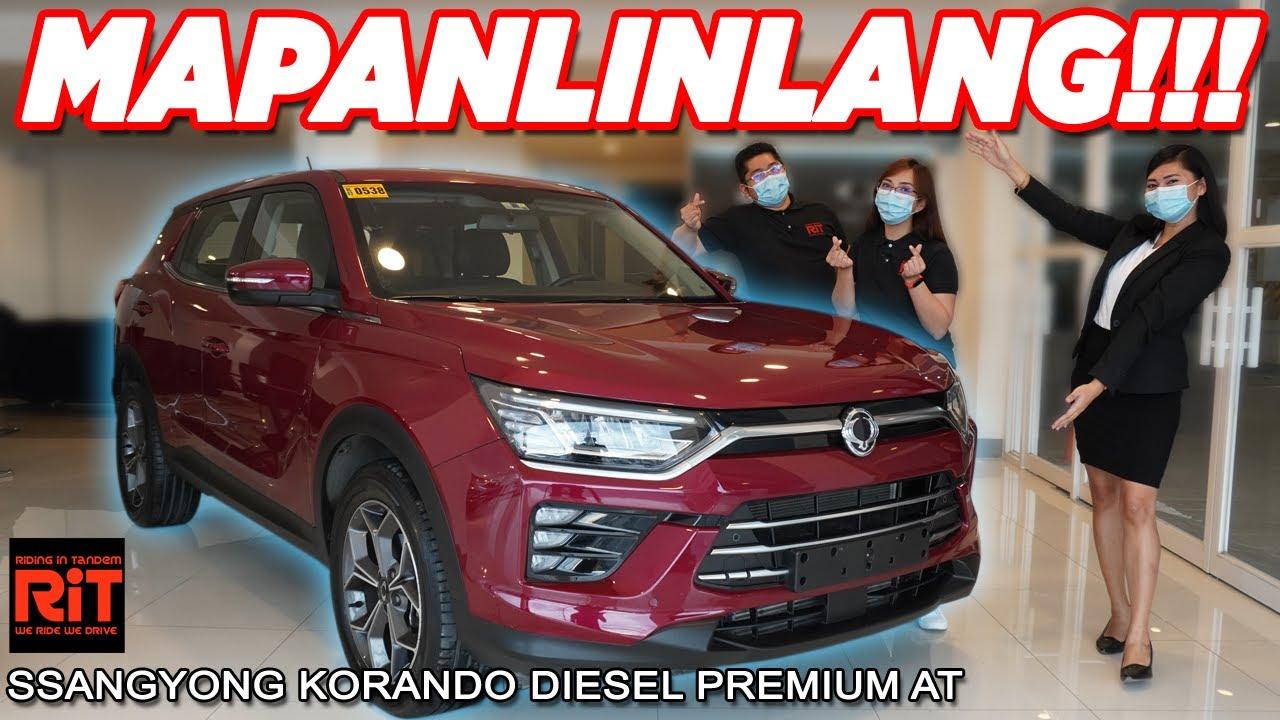 Ssangyong Korando Diesel Premium AT : Diesel Crossover