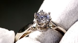 Мгновения творчества: помолвочные кольца(От вашей первой встречи до момента, когда звучит «Ты будешь со мной навсегда?», ваша жизнь наполнена яркими..., 2016-04-25T09:01:30.000Z)