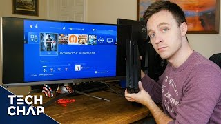 What's it like playing the ps4 pro on an ultrawide 21:9 monitor? i put to test by hooking up new with asus pg348q find ou...