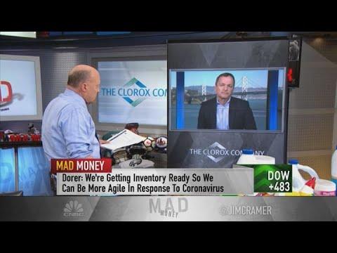 Clorox CEO On Coronavirus Outbreak: 'We're Not Seeing An Impact On Sales Just Yet'