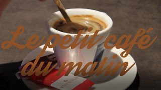 Le petit café du matin avec Alessandro Di Profio