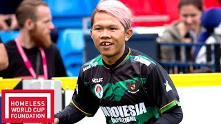 Indonesia v Hungary | HWC Starts 13th Nov! | Full Match Throwback | Homeless World Cup