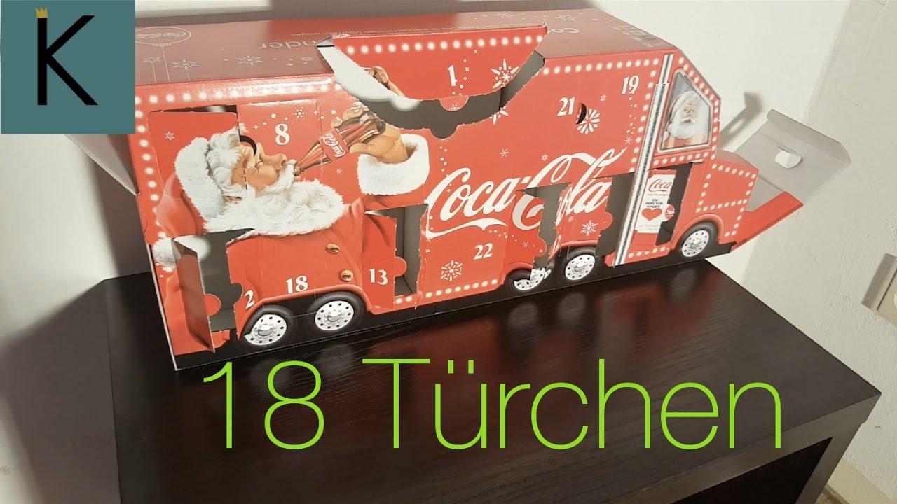 Coca Cola Adventskalender Rewe
