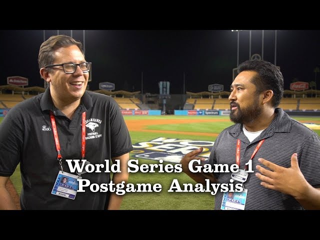 Dodgers Take Game 1 Of The 2017 World Series | Los Angeles Times