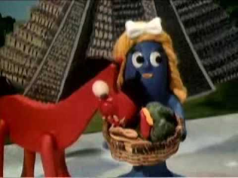 GUMBY AND HIS HOE FRIENDS - YouTube