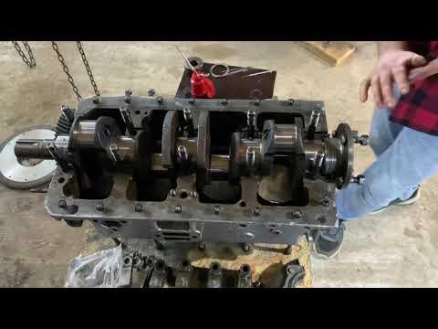 Двигатель ГАЗ 21 ДЕТАЛЬНАЯ СБОРКА часть1
