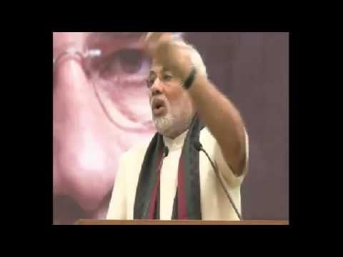 Narendra Modi meets students from Shri Ram College of Commerce, Delhi - YouTube.flv