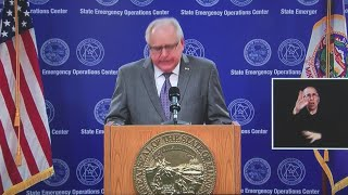 Walz comments on the death of George Floyd
