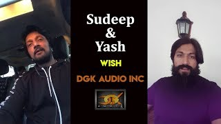 Sudeep and Yash wish DGK Audio Inc