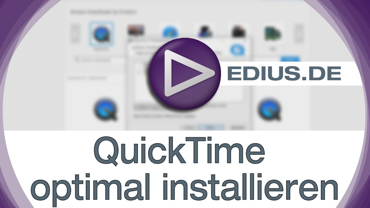Quicktime Installieren