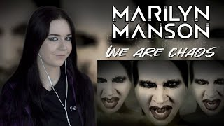 Marilyn Manson - WE ARE CHAOS (Реакция / Reaction)