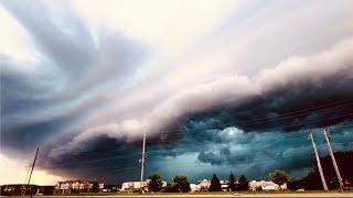 Derecho Storm Pictures