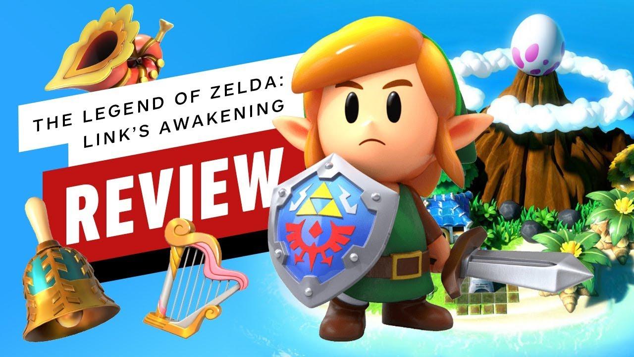 The Legend of Zelda: Link's Awakening Review thumbnail