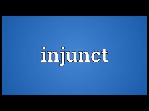 Header of injunct