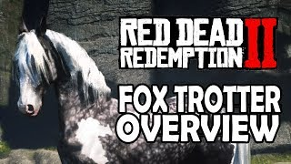 Red Dead Redemption 2 Horses   Missouri Fox Trotter Overview