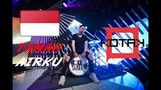 Gambar cover TANAH AIRKU - KOTAK INTRO Cover [ Drum Cam ] | gilang_nr