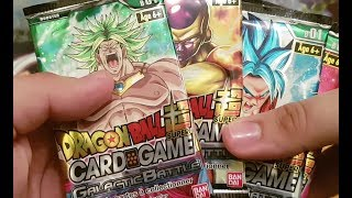 OUVERTURE DRAGON BALL SUPER : GALACTIC BATTLE 4 BOOSTERS