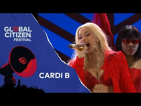 Cardi B Performs I Like It | Global Citizen Festival NYC 2018