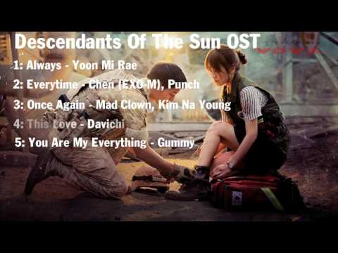 Descedents of The Sun OST (Song Joong Ki - Song Hye Kyo)