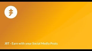 J8T - Earn with your Social Media Posts
