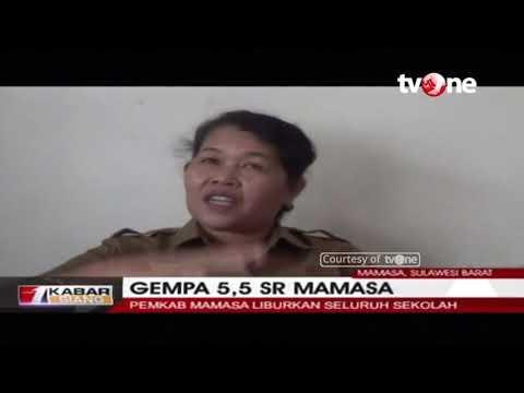 Gempa 5,5 SR, Pemkab Mamasa Liburkan Sekolah Mp3