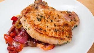 10 Minute Dinner - Sweet & Sour Pork Chops