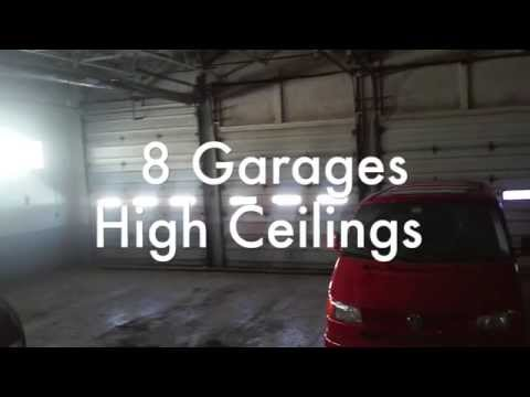 For Lease Automotive 8 Garages, LIFT, Showroom, Cleveland Commercial Real Estate high traffic