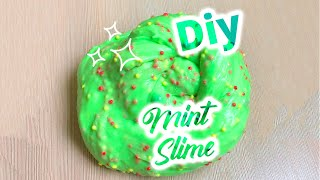 Viral 2019 SLIME RECIPE   DIY FLUFFY MINT SLIME  Most Satisfying &amp Relaxing video!