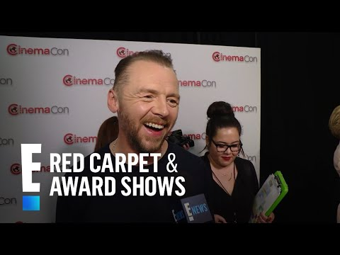 Simon Pegg Reacts to Tom Cruise's Nickname for Him   E! Live from the Red Carpet